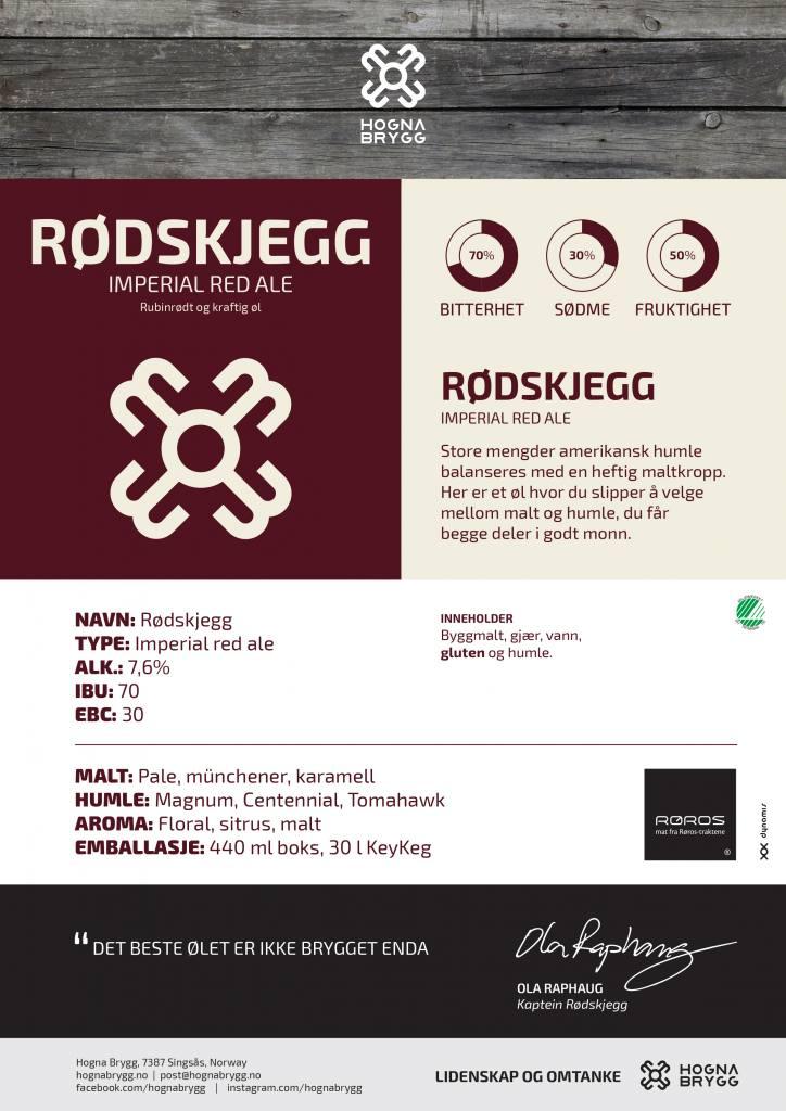 Rødskjegg Produktark HOGNA BRYGG A4